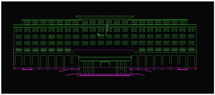 建筑物三维立体图